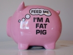 Money Box I'm A Fat Pig