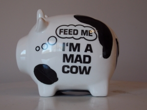 Money Box I'm A Mad Cow