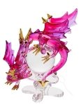 Glass Dragon & Baby Pink/Purple