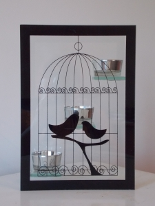 Candle Holder Tealight Birdcage
