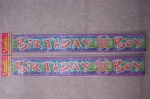 Banner Foil Birthday Boy