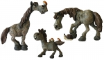 Bailey Horse Set of 3