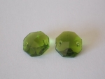 Octagons Olive Green 14mm