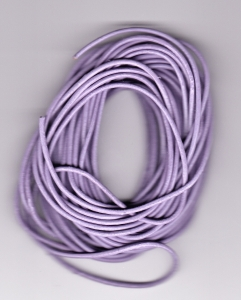 1.5mm Lilac Round Leather Thonging