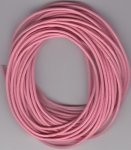 1.5mm Pink Round Leather Thonging