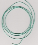 0.5mm Turquoise Metallic Round Leather Thonging