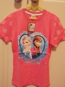 Frozen T-Shirt Anna & Elsa Pink