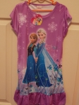 Frozen Dress Anna & Elsa Purple