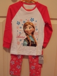 Frozen Long PJ's Anna Pink