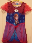 Frozen Anna Wine Red Dress
