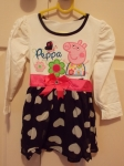Peppa Pig Long Sleeve Dress