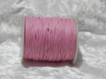 1.5mm Pink Waxed Cotton