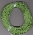 1mm Green Round Leather Thonging
