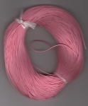 1mm Pink Round Leather Thonging