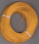 1mm Yellow Round Leather Thonging