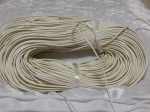 2mm Off White Round Leather Thonging