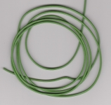 2mm Green Round Leather Thonging