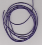 2mm Purple Round Leather Thonging