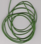 1.5mm Green Round Leather Thonging