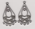 Tibetan Silver Connector Style 3