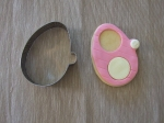 Baby Shoe Cookie Cutter