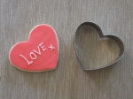 Single Heart Cookie Cutter