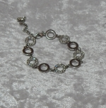 Equilibrium Bracelet Circle Charm Silver **CLEARANCE COST PRICE ONLY**