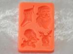Silicone Mould - Santa Clause