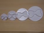 Set of 4 Bows Plunger Cutter