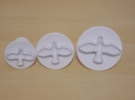 Set of 3 Dove Plunger Cutter