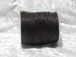 1.5mm Dark Brown Waxed Cotton Roll