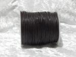 1.5mm Dark Brown Waxed Cotton