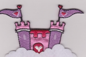 Iron On Patch Castle