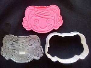 Lalaloopsy 2 Plunger/Stamp Cutter