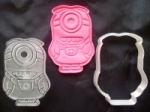 Despicable Me Minion 1 Plunger/Stamp Cutter