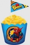 Baking Cups & Picks Spiderman