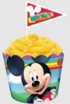 Baking Cups & Picks Mickey Mouse