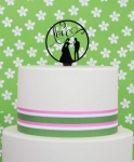 Acrylic Cake Topper - Wedding Love