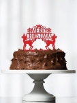 Acrylic Cake Topper - Christmas