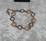 Equilibrium Bracelet Circle Charm Gold **CLEARANCE COST PRICE ONLY**