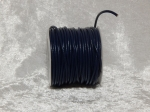 2mm Navy Blue Round Leather Thonging