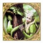 Anne Stokes Tile - Kindred Spirits