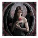 Anne Stokes Tile - Angel Rose