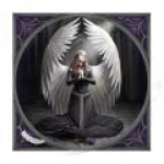 Anne Stokes Tile - Prayer for Fallen