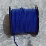 Faux Suede Cord Flat 3mm Royal Blue