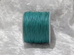 1mm Teal Waxed Cotton