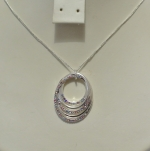Equilibrium Necklace Diamond Loop Multi **CLEARANCE COST PRICE ONLY**