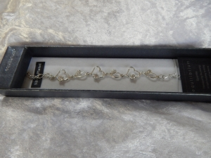 Equilibrium Bracelet Multi Heart Silver **CLEARANCE COST PRICE ONLY**