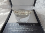 Equilibrium Bangle Diamante Oval Crystal **CLEARANCE COST PRICE ONLY**