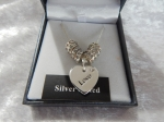 Equilibrium Necklace Diamante Heart Love **CLEARANCE COST PRICE ONLY**